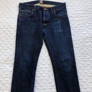 $248 PRPS Japanese Selvedge Denim Jeans 35 P2